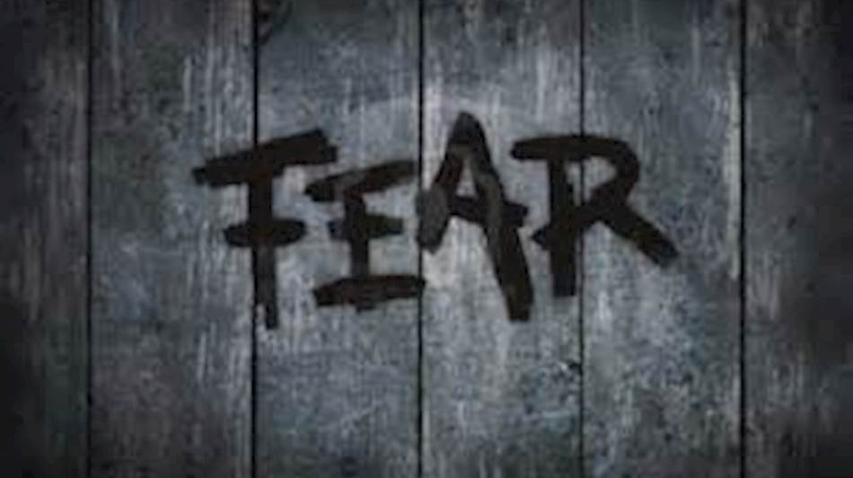 Let's talk about dark tales at this dark time of year.  Let's talk about fear.