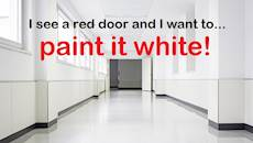 """CharityConnect: """"Paint it all white, like a hospital!"""""""