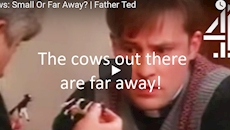 """CharityConnect: """"The Cows out there are far away!"""" - learning from Father Ted"""